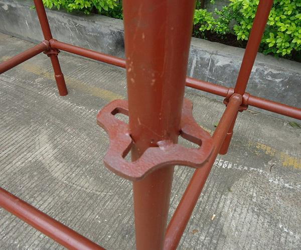 轮扣式建筑脚手架
